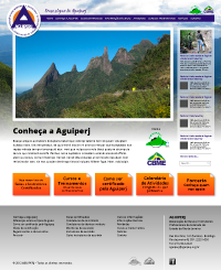Layout Site Aguiperj